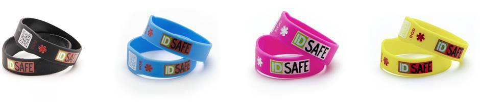 Composizione braccialetti sicurezza IDsafe